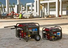 """Преносими бензинови генератори CPPG """"Chicago Pneumatic"""" -  2,3 kVA  и  5,5 kVA;  50 Hz"""