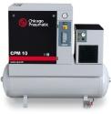 Винтови компресори серия CPM  от 7,5 до 15 kW -  версия компресор с хладилен изсушител върху ресивер