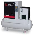 Винтови компресори серия CPM  от 2,2 до 5,5 kW-  версия компресор с хладилен изсушител върху ресивер